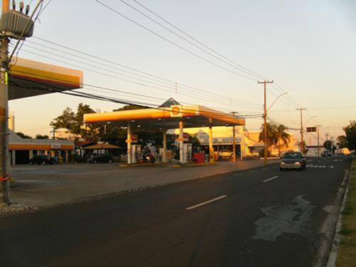 Imagem do negócio - Posto de gasolina bandeirado